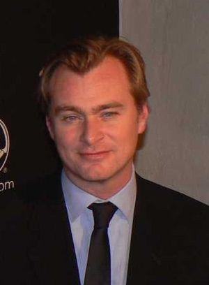 English: Christopher Nolan at Santa Barbara In...