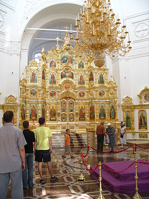 Udmurtia - St.Michael's Cathedral is the one of the main churches of Udmurtia