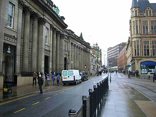 Church Street (Sheffield) street in Sheffield city centre, England, United Kingdom