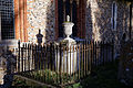 Church of St Mary Broxted Essex, England - churchyard tomb south of nave 2.jpg