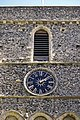 Church of St Mary the Virgin, Eastry, Kent - tower upper stages at west.jpg