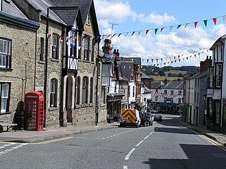Kington, Herefordshire - Church Street