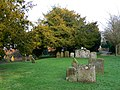 Churchyard, Holy Cross church, Chiseldon, Swindon - geograph.org.uk - 1119736.jpg