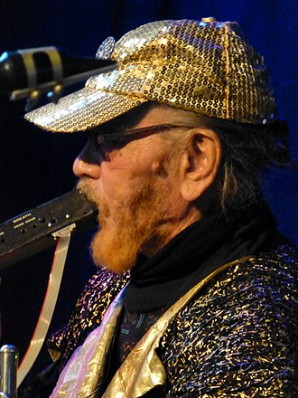 Marshall Allen - Marshall Allen performing with James Harrar's Cinema Soloriens at Band On The Wall, Manchester, 4 April 2013