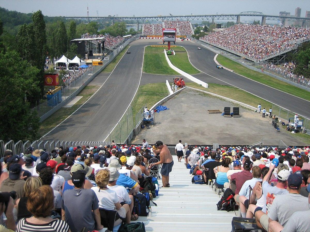 Circuito Gilles Villeneuve : Circuit gilles villeneuve simple english wikipedia the