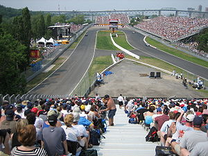 Circuit Gilles Villeneuve - The Hairpin (L'Epingle) on Circuit Gilles Villeneuve