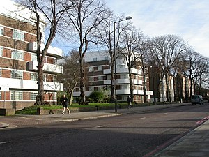 Clapham Park - Oaklands Estate, Clapham Park