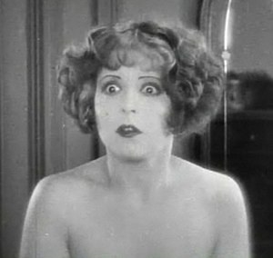 Wings (1927 film) - Clara Bow as Mary Preston in Wings