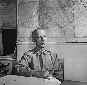 Clarence Lionel Adcock - Brigadier General Adcock in 1943