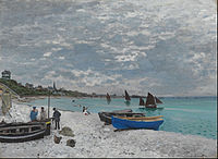Claude Monet - The Beach at Sainte-Adresse - Google Art Project.jpg