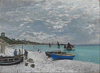 La plage de Sainte-Adresse