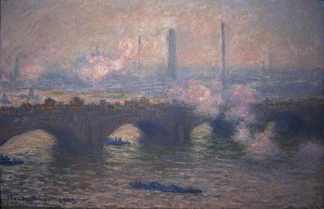 File Claude Monet Waterloo Bridge Gray Day Jpg