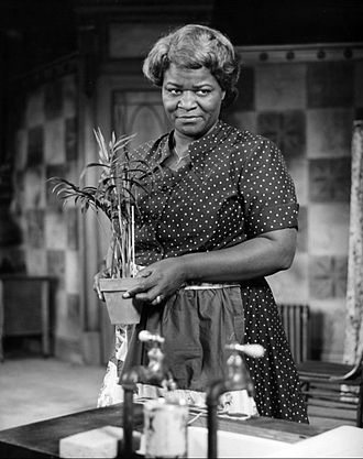 Claudia McNeil - McNeil as Lena Younger in the 1959 play, A Raisin in the Sun.