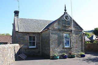 Cleish village in Scotland