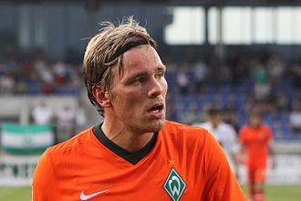 Clemens Fritz - Fritz playing for Werder in 2009