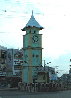 Uhrturm in Nagercoil