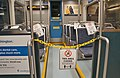 Closed section on Link light rail train due to COVID-19 pandemic.jpg