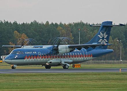 Arrivée des Delfrous 440px-Coast_Air_ATR-42-320_LN-FAR