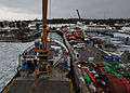 Coast Guard, other environmental response agencies prepare equipment for oil-recovery training 120123-G-HE371-001.jpg