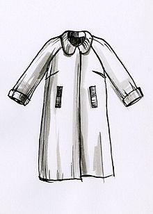 Disegno di un cappotto.