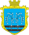 Coat of arms of Nazarivka.png