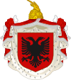Coat of arms of the Albanian Kingdom (1928–1939).svg