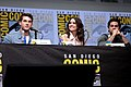 Cody Christian, Shelley Hennig & Dylan O'Brien (36138649505).jpg