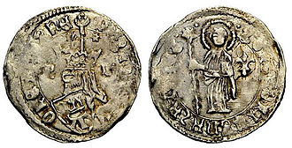 Tvrtko II of Bosnia - Coin of Tvrtko II