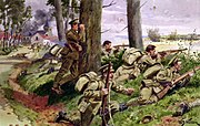 Coldstream Guards, Western Front, 1914 by W. B. Wollen