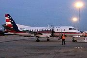 Saab 340B in Colgan Air livery