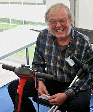 Colin Pillinger - At Jodrell Bank Observatory in 2009