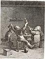Collection de cent-vingt estampes, gravée d'après les tableaux and dessins qui composoient le cabinet de m. Poullain précédée d'un abrégé historique de la vie des auteurs qui la composent Cette suite (14592022470).jpg