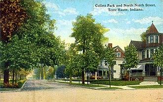 Collett Park Neighborhood Historic District - Collett Park Neighborhood circa 1913
