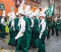 Colorado State University Marching Band, Colorado, USA - Getting Ready For The 2013 Patrick's Day Parade (8565850283).jpg
