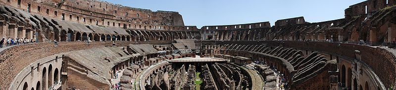 Colosseum Interior Panorama from Level 2.jpg