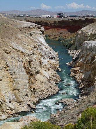 John Colter - Colter's Hell of the Shoshone River, just west of Cody, Wyoming