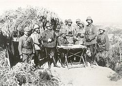 Commanders of the Ottoman III Corps at the Gallipoli Front