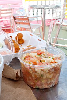 Conch Salad And Fritters