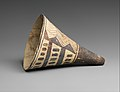 Cone-shaped vase with geometric decoration MET DP341326.jpg