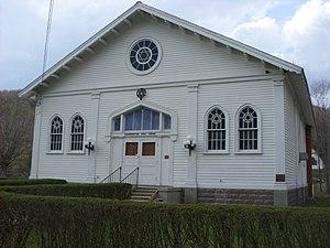 Congregation B'nai Israel Synagogue - Image: Congregation Bnai Israel Synagogue Apr 09