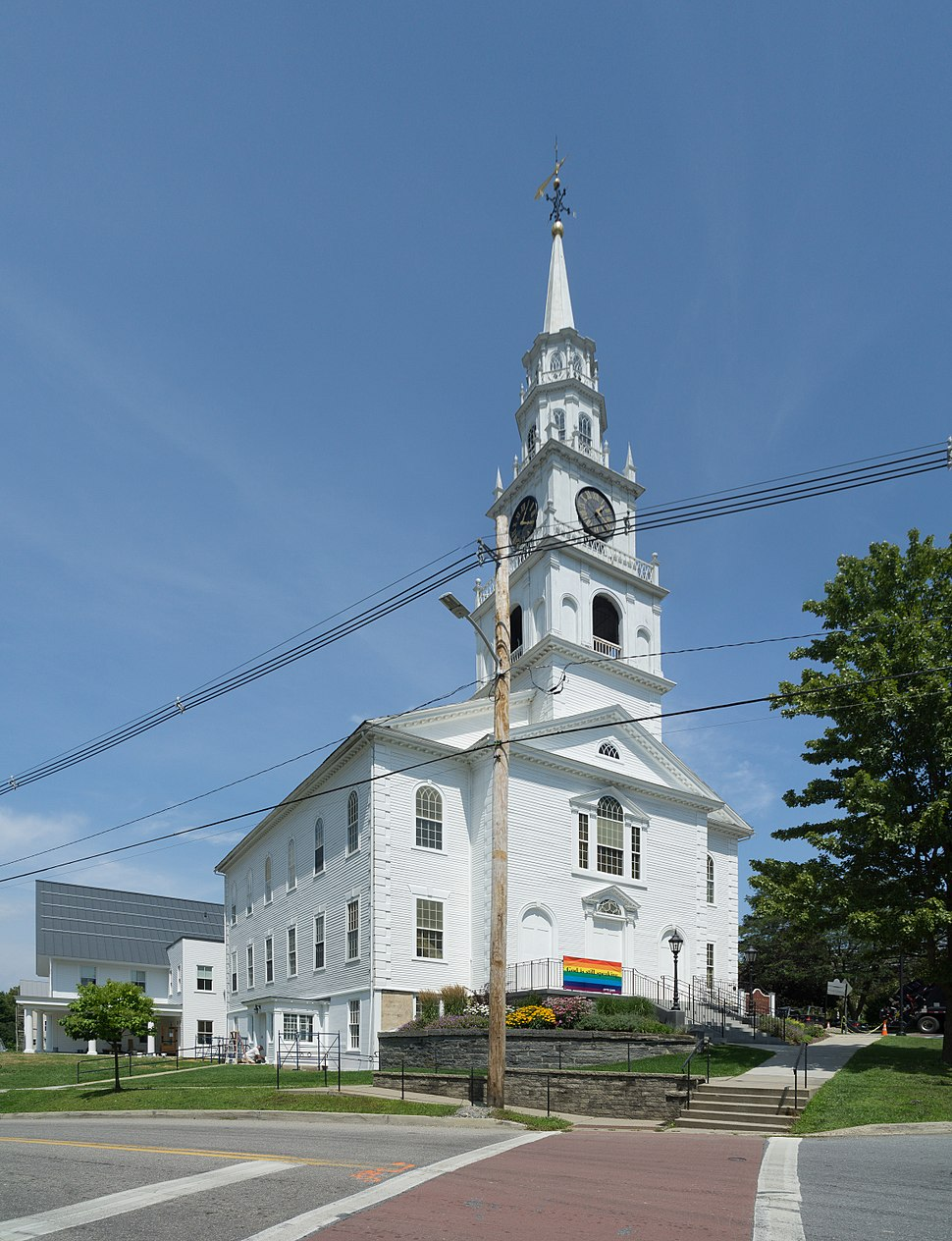Congregational Church, Middlebury, Vermont