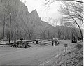 Construction of sanitation station near entrance to South Campground, Fall 1966. ; ZION Museum and Archives Image 003 01047 (f3b9cdeddd7441959be57ae423241b55).jpg