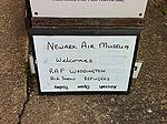 Cool welcome at Newark Air Museum. Great collection. We'll come back soon (5899096154).jpg