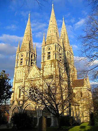 William Burges - Saint Fin Barre's Cathedral, Cork, Ireland – Burges's first major commission