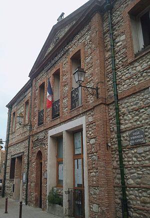 Corneilla-la-Rivière - The town hall