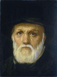 Cornelis van Haarlem: Portrait of Dirck Volkertsz Coornhert, Poet, Philosopher and Engraver