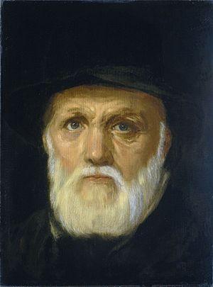 Dirck Coornhert - Portrait of Dirck Volckertszoon Coornhert by Cornelis van Haarlem