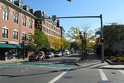 Corner of Richards Avenue and North Washington Street