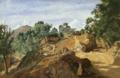 Corot - Châtaigneraie rocheuse (Auvergne ou Morvan), vers 1831-1836.png