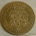 Cosimo III granduke of tuscany coins, 1670-1723, doppia 1711.JPG